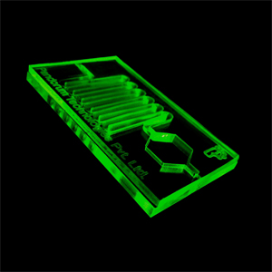 IBM Patents Microfluidic chips with easy to integrate receptor bead integration system
